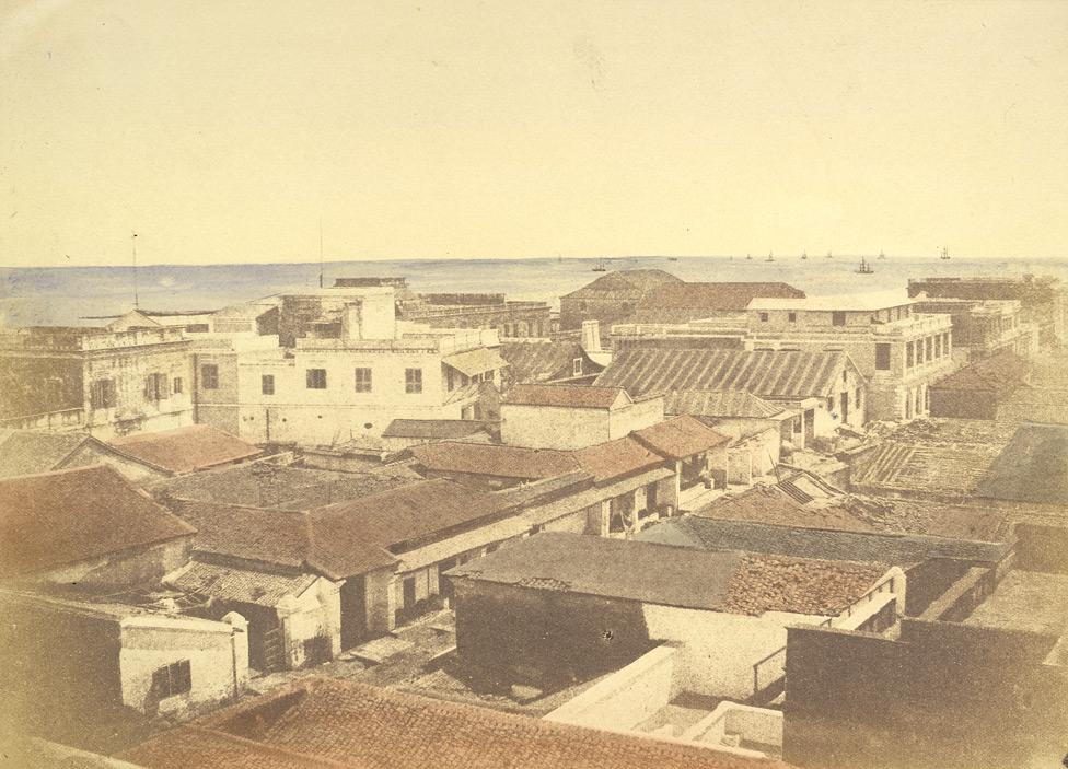 View of black [George] town, Madras 24841
